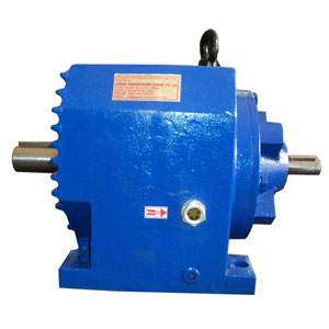 Solid Input Shaft Inline Helical Gearbox