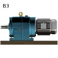 b3-mounting-inline-helical-geared-motor